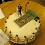 Ghastly cake