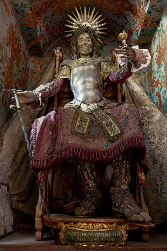 Cult Treasures and Spectacular Saints from the Catacombs