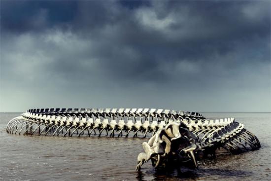 Serpent d'Océan - Huang Yong Ping