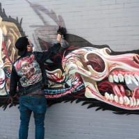 2 Nychos_x-ray of a wolf_ Haight Ashbury SF 2014 Photo james pawlish