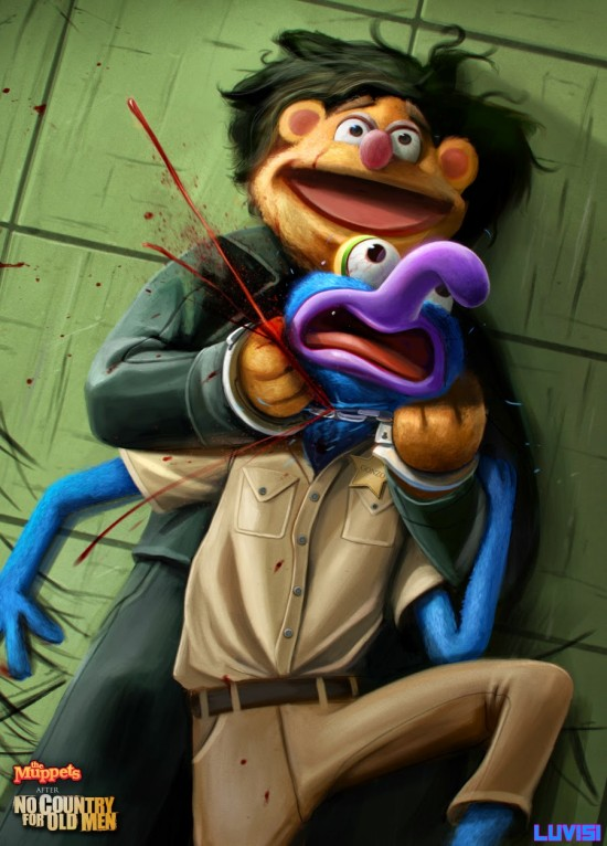no_country_for_old_muppets___by_danluvisiart-d680svx (1)