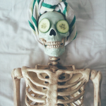 Skellie, the coolest skeleton of instagram